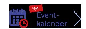 Icon für den Eventkalender - Blauer Kalender mit roter Uhr davor