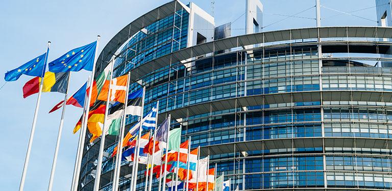 Sitz des EU Parlaments