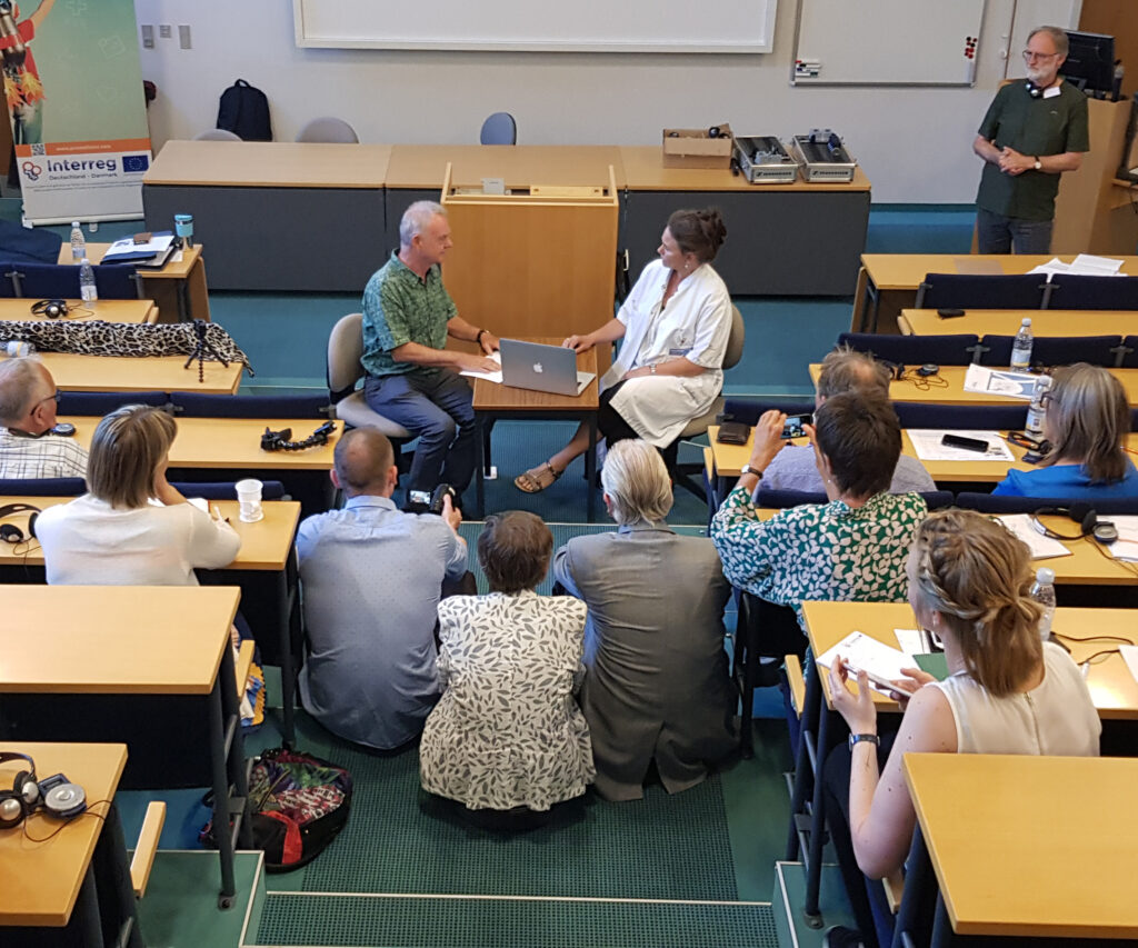 Präsentation in der Gruppe