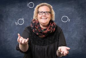 Maj-Britt Søgaard, Teamassistentin