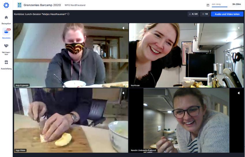Lunch Session Fit4Jobs – Gemeinsames Mittagessen