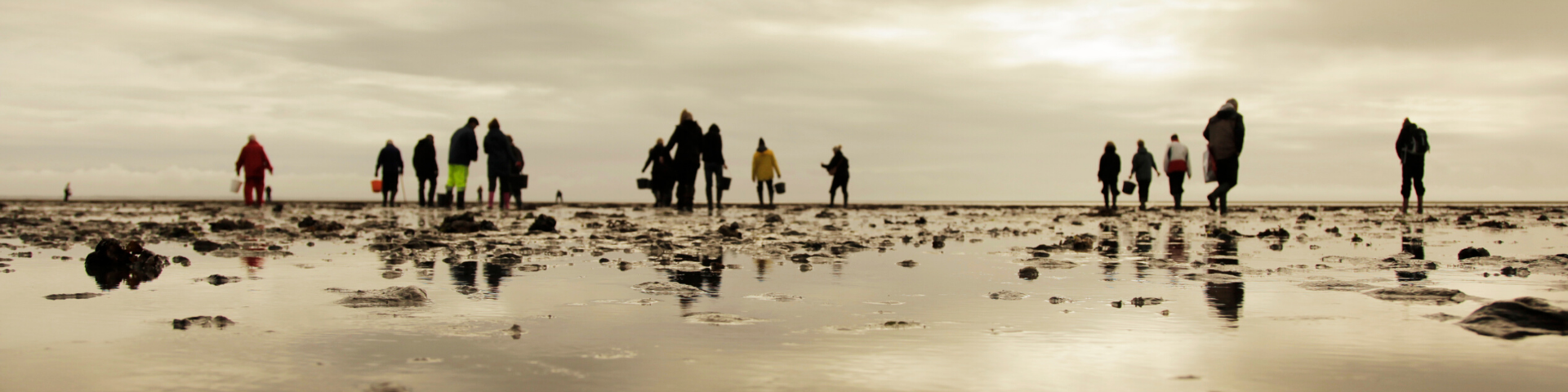 personer ved stranden